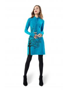 Dress STORK PRINT
