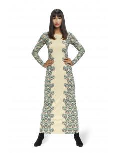 Robe longue ARABICA PRINT