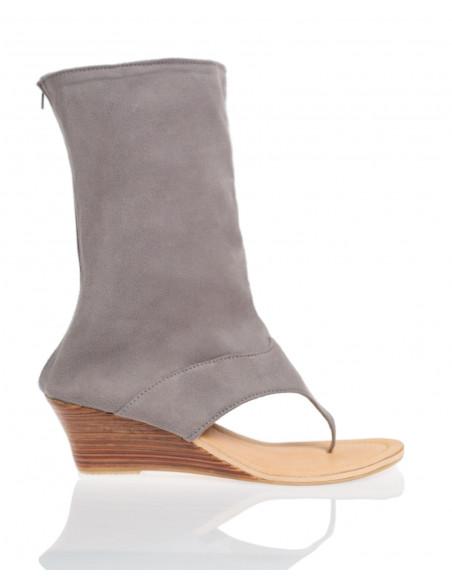 Sandales Saint Charles Gris
