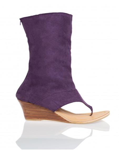 Sandales Saint Charles Violet